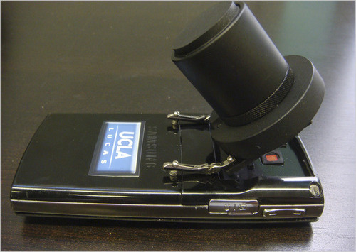 cellphone microscope